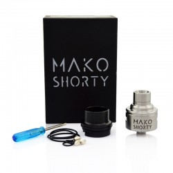 Mako Shorty RDA Rebuildable Dripping Atomizer