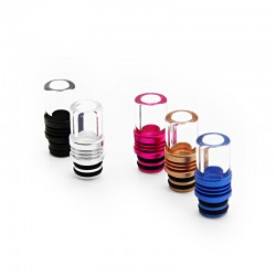 Aluminum + Glass Large Calibre 510 Drip Tip