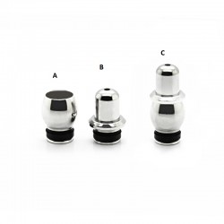 Stainless Steel Pagoda Style 510 Drip Tip