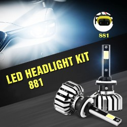 N7 LED CONVERSION KITS FOR 881 CAR HEALIGHTS