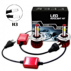 R7 80W LED HEALIGHER CONVERSION KITS H3