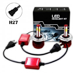 R7 80W LED HEALIGHER CONVERSION KITS H27
