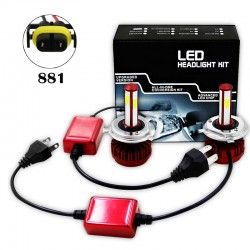 R7 80W LED HEALIGHER CONVERSION KITS 881