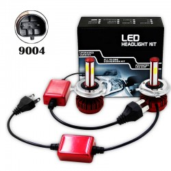 R7 80W LED HEALIGHER CONVERSION KITS 9004
