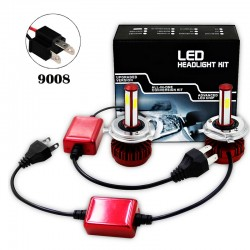 R7 80W LED HEALIGHER CONVERSION KITS 9008