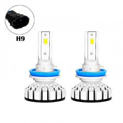 80W 8000LM R8 Series H9 Led healight Conversion Kits