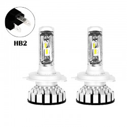 80W 8000LM R8 Series HB2 Led healight Conversion Kits