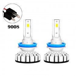 80W 8000LM R8 Series 9008 Led healight Conversion Kits