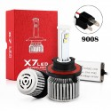 80W 9008 CREE Chip Led Headlights Conversion Kits X7 Series