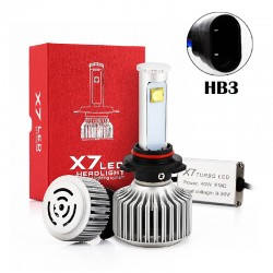 80W HB3 CREE Chip Led Headlights Conversion Kits X7 Series