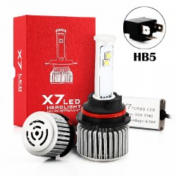 80W HB5 CREE Chip Led Headlights Conversion Kits X7 Series