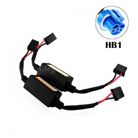 HB1 LED CANBUS Error Free Anti Flicker Resistor Canceller Decoder