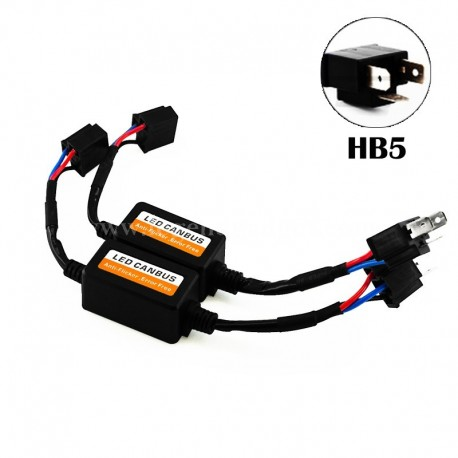 HB5 LED CANBUS Error Free Anti Flicker Resistor Canceller Decoder
