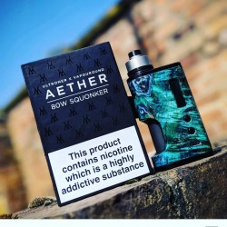 Ultroner Aether 80W stabwood Squonk Mod