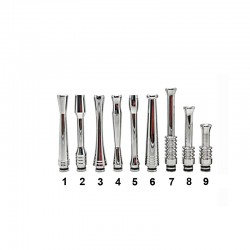 65-70mm Long Stainless Steel 510 Drip Tip