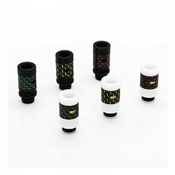 Carbon Fiber + Resin Adjustable Air Flow 510 Drip Tip