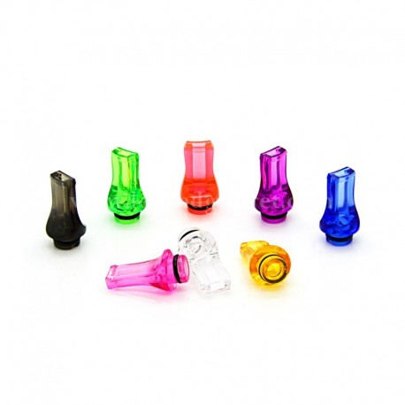 Plastic Flat Mouth 510 Drip Tip