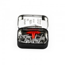 Demon Killer Kanthal A1 316L Stainelss Steel Alien V2 Coil