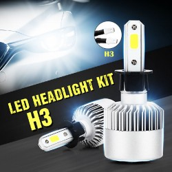 S2 LED Conversion kits for H3 Car headlights