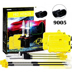 CROSS TIGER 220W 9005 HID Xenon Headlights conversion Gold Combination Set