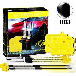 CROSS TIGER High Fast Bright HB3 HID Xenon Lamp Headlights Gold Combination Set