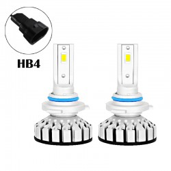 80W 8000LM R8 Series HB4 Led healight Conversion Kits