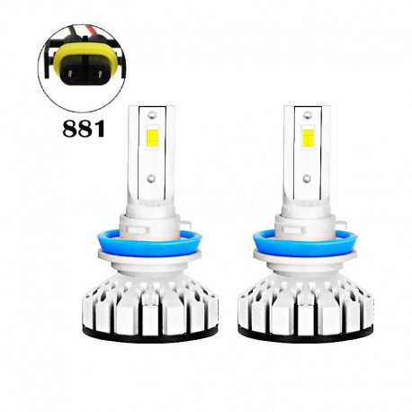 80W 8000LM R8 Series 881 Led healight Conversion Kits