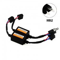 HB2 LED CANBUS Error Free Anti Flicker Resistor Canceller Decoder