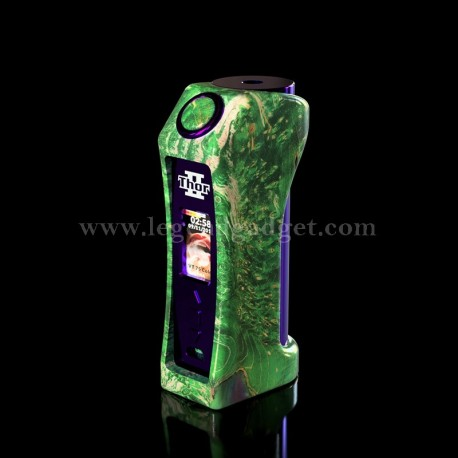ThorII DNA75C Stabilized Wood Vape Mod
