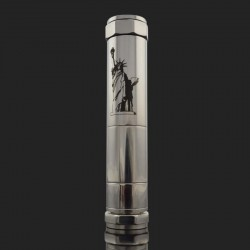 Stainless Steel USA Statue of Liberty Mechanical Mod