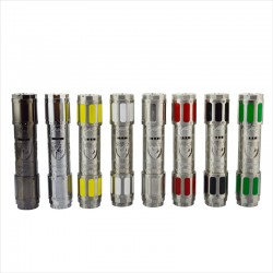 Stainless Steel / Chrome V3 Tronix Flip Mechanical Mod